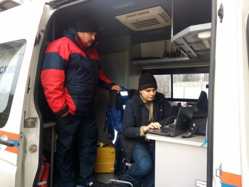 На улице Шкурлова организовали оперативный штаб.