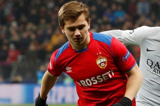 Полузащитник ЦСКА Обляков получил перелом в матче с «Ромой»