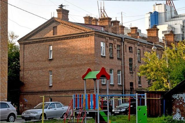 Дома были построены в начале 20-го века.