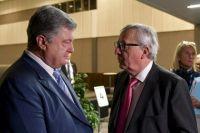 Порошенко обсудил финансовую помощь Украине с главой Еврокомиссии