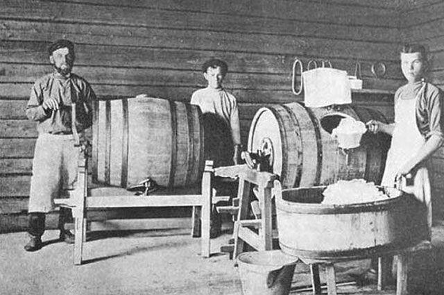 Маслодельни стали новым видом промысла в XIX веке.
