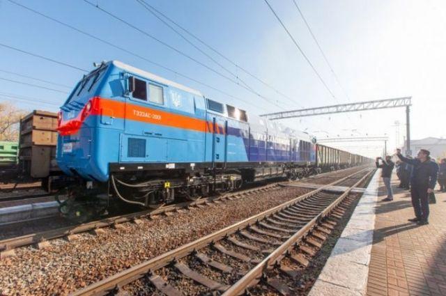 Укрзализныця провела первое испытание нового локомотива от General Electric
