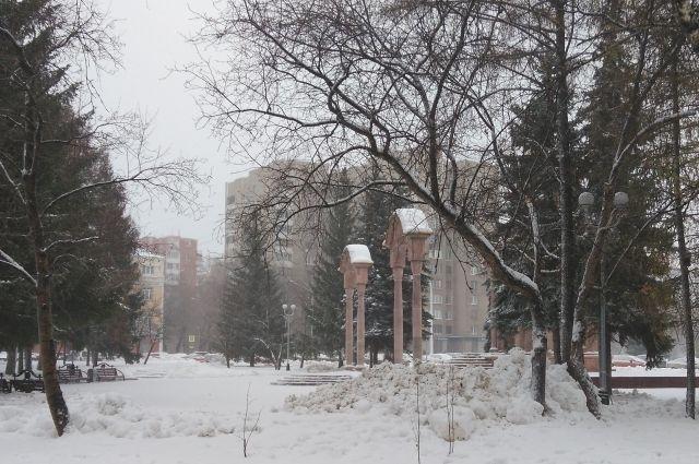 Арктический воздух остудит мягкую атмосферу снежной осени в областной столице.