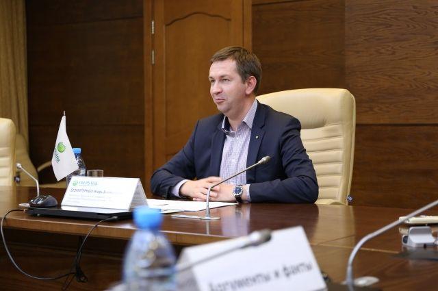 Игорь Безматерных, заместитель председателя Сибирского банка – управляющий Новосибирским отделением ПАО Сбербанк.