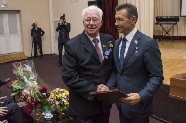 Празднование 90-летия основателя Краснодарского университета МВД Ричарда Балясинского.