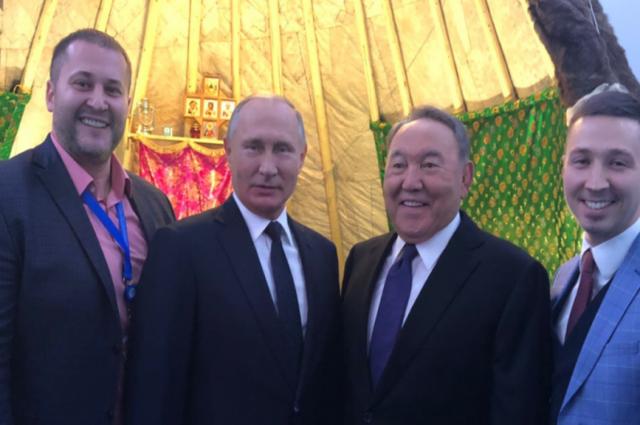 Экспозицию Ямала в Казахстане посетили Владимир Путин и Нурсултан Назарбаев