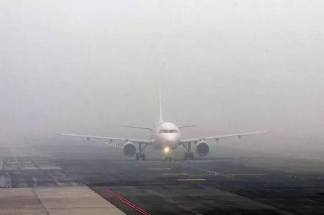 В аэропорту «Киев» задержали и перенесли рейсы из-за тумана