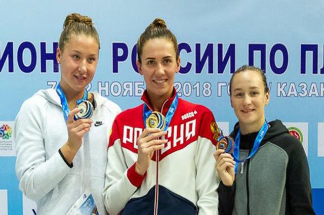 Ямальская спортсменка стала чемпионкой России «на короткой воде»