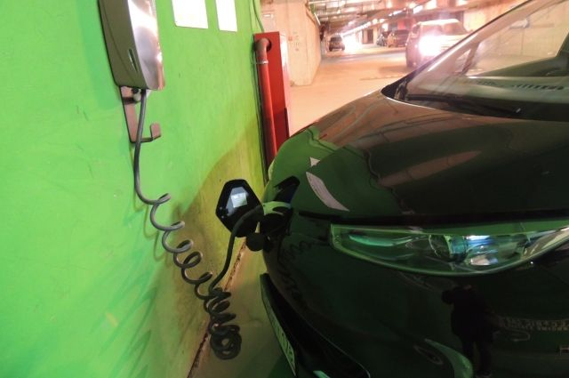 В 2019 году в Тюмени построят пять зарядных станций для электромобилей