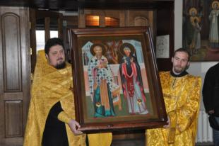 Икона святым будет находиться на Алтае до 8 декабря