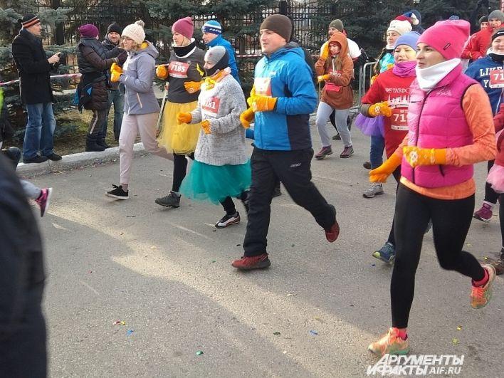 11 ноября 1600 пермяков пробежали ради детей.