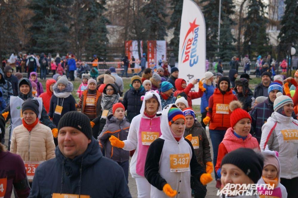 Почти вся территория студенческого городка ПГНИУ заполнилась участниками и болельщиками.