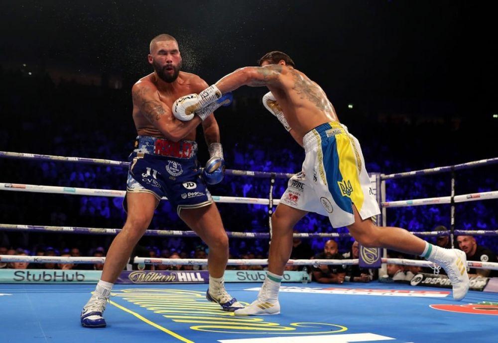 По окончании боксерского поединка между Александром Усиком и Тони Белью на Манчестер Арене произошла драка.