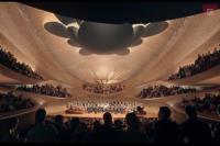 Так выглядит новый зал филармонии в проекте архитектурного бюро Захи Хадид.