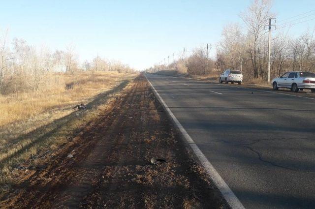 Разыскиваются свидетели смертельного ДТП под Оренбургом.