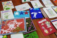 В Лабытнанги дети написали для солдат 150 писем