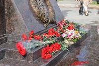 Памятник героям-оренбуржцам  Первой мировой открыли к 100-летию начала войны в 2014 году.