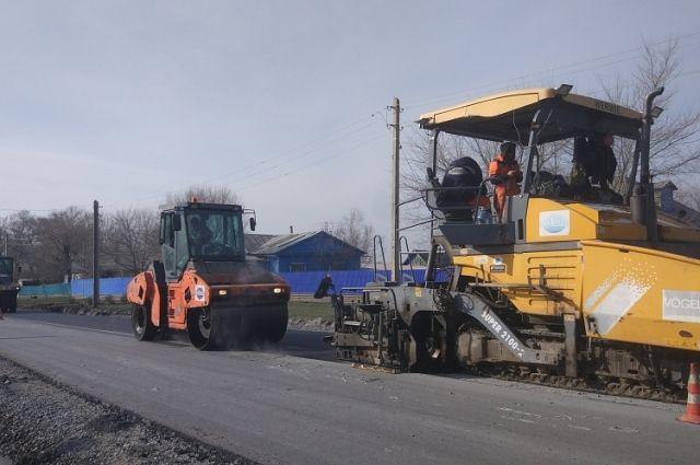 В Хабаровске произведен ремонт 93 км дорог.