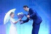 На церемонии награждения даже самые юные участники фестиваля чувствовали себя настоящими звёздами эстрады.