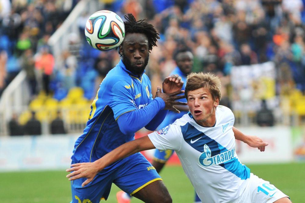 В феврале 2012 года Аршавин был отдан в аренду в «Зенит» до конца чемпионата России по футболу 2011/2012.