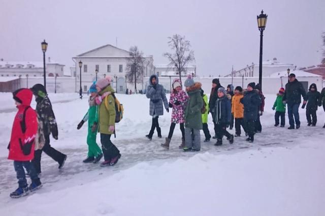 Ямальские ребята отправились в поездку по императорскому маршруту