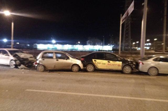 Авария произошла на улице Старцева.