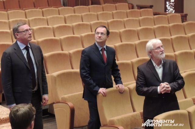 Александр Бурков, Владимир Мединский, Владимир Витько