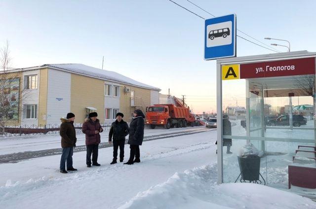Народный контроль проверил состояние пешеходных переходов в Тарко-Сале