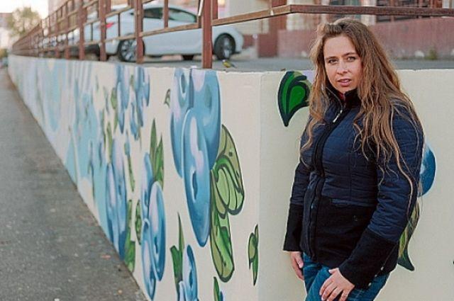 Граффитистам предназначены две подпорные стены.