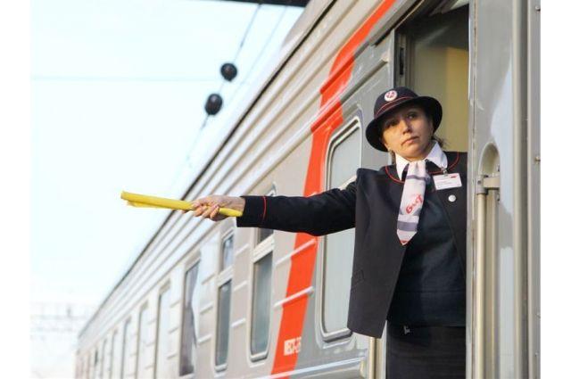 В преддверии нового года растет спрос на поезда.