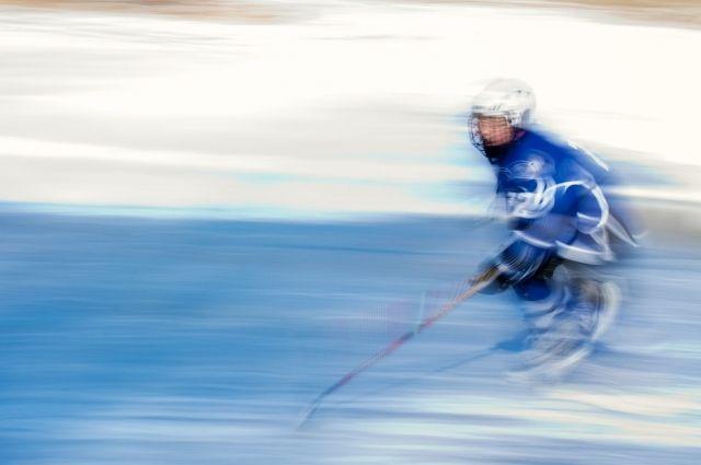 В Тюмени во время хоккейного матча подрались спортсмены