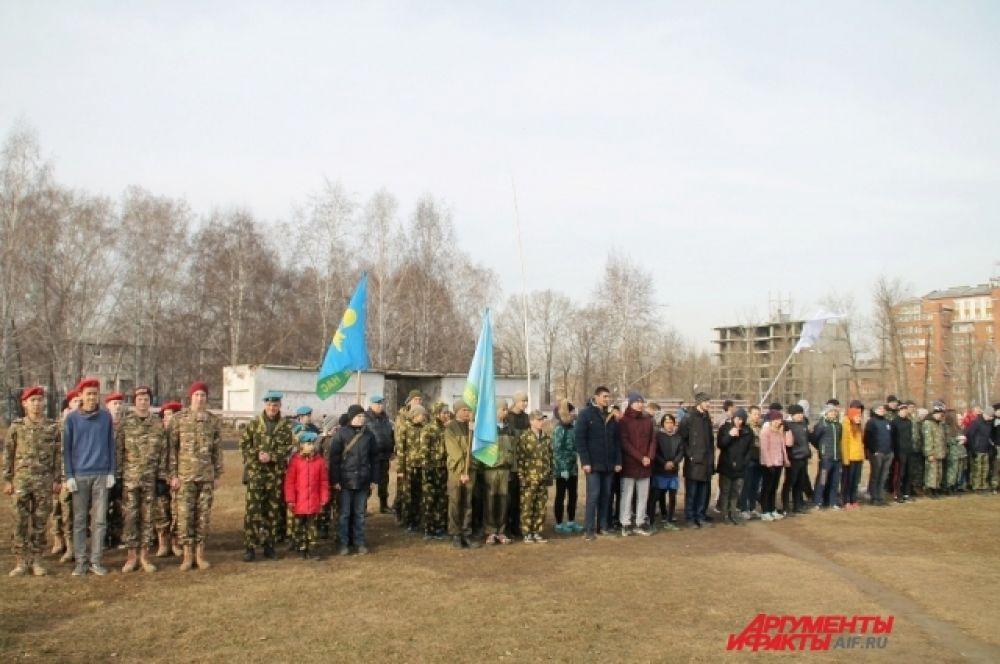 В Иркутске прошли военно-спортивные игры для студентов «Фронтовая тропа» и школьников «Тропа разведчика».