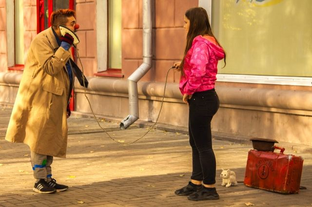 Артисты отмечают, что клоунадой легче заниматься именно в таком городе, как Кемерово.