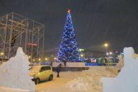 Городок на площади Ленина откроют 20-21 декабря.