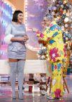 Лолита Милявская и Верка Сердючка принимают участие в съемках новогодней программы «Голубой огонек», 2010 год.
