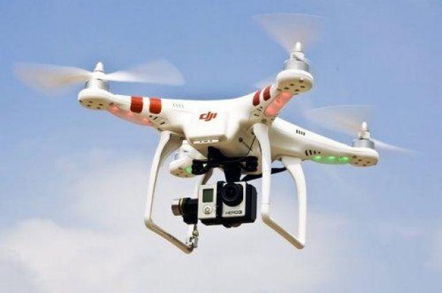 ВСУ засекли неизвестный беспилотник в небе над военным арсеналом
