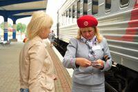 Пассажиров поезда «Янтарь» в качестве эксперимент досматривают в пути.