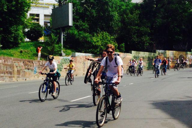 Велосипедные проекты очень популярны в крае, они зажигают молодёжь.