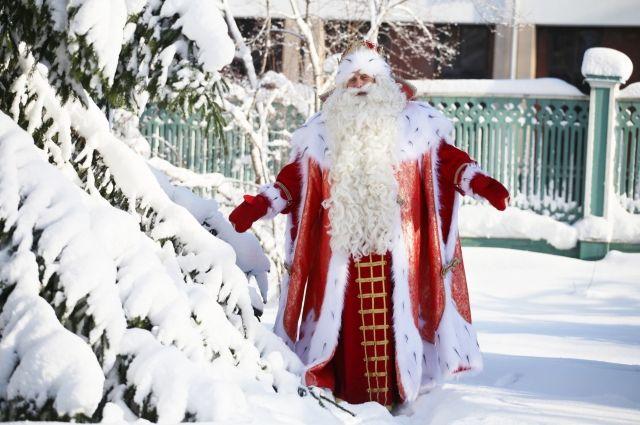 Путешествие Деда Мороза с НТВ