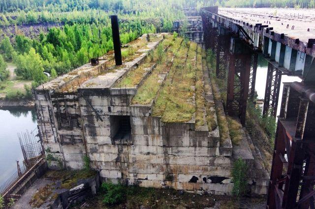 Строительство ГЭС заморожено с 1989 года.