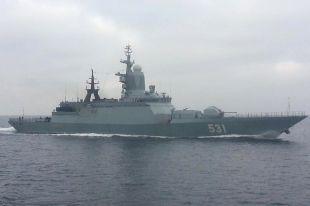 Корветы «Стойкий» и «Сообразительный» вернулись в Балтийск после похода.