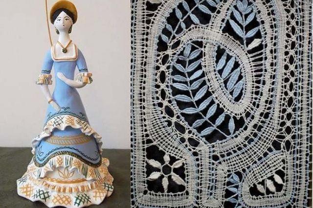 В Калининграде покажут кукол в костюмах из антикварных тканей и кружева.