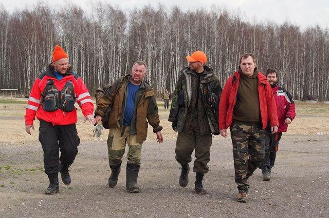Добровольцы готовы в любой момент выехать на поиски пропавших.