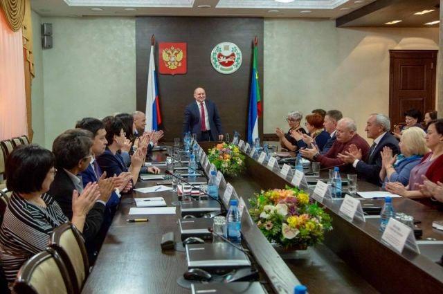 Михаил Развозжаем провел последнее совещание в качестве врио главы республики.
