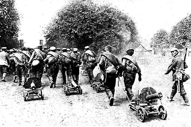 Русские солдаты, Первая мировая война.