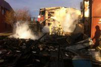 Огонь уничтожил всё, что было в доме.