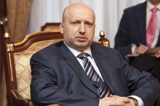 Турчинов анонсировал «мощный пакет» мер по ситуации на востоке Украины