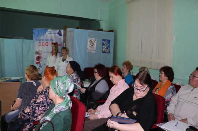 В Ямальском центре медицинской профилактики провели занятия для диабетиков