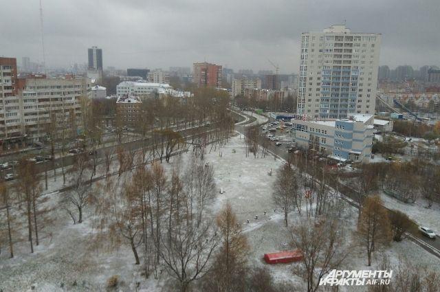 К началу недели в Пермском крае сформируется устойчивый снежный покров.