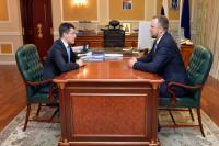 Дмитрий Артюхов провел встречу с ямальским бизнес-омбудсменом